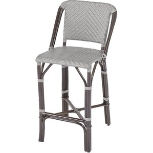 Barre Rattan Bar Stool by Bay Isle Home