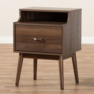 West Wick 1 Drawer Nightstand by George Oliver