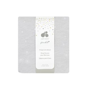 Great Price Sparkle Fitted Crib Sheet ByJust Born
