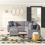 Mendenhall Reversible Modular Sectional with Ottoman by Latitude Run®