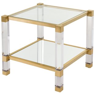 Reynaldo Square Two Tiers End Table
