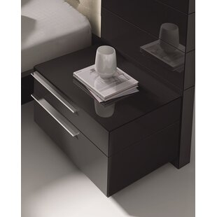 Best Price Callimont 2 Drawer Nightstand by Wade Logan