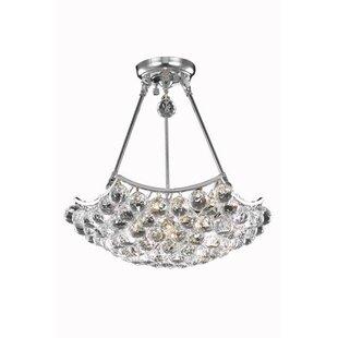 Kasha 3-Light Crystal Chandelier By Willa Arlo Interiors