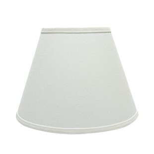 Best 13'' Fabric Empire Lamp Shade By Rosecliff Heights