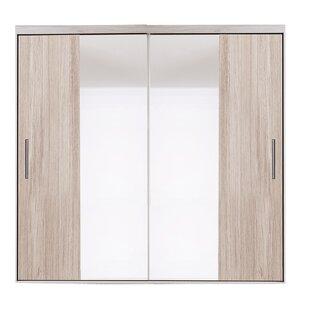 Garey 2 Door Sliding Wardrobe By Brayden Studio