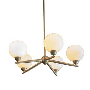 Eveleth 5-Light Sputnik Chandelier