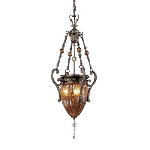 Metropolitan by Minka Sanguesa 3-Light Urn Pendant