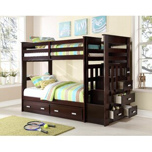 Best Reviews Steinfort Twin over Twin Bunk Bed with Storage by Harriet Bee Reviews (2019) & Buyer's Guide