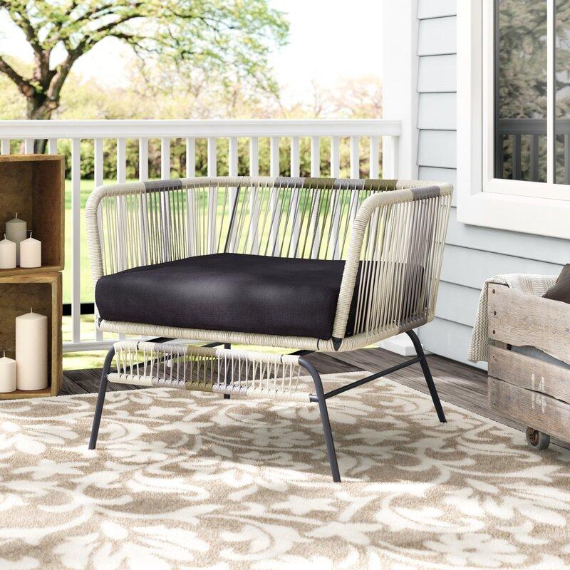 Design Tree Home Acapulco Arm Chair With Cushion U0026 Reviews | Wayfair