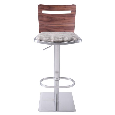 Danika Adjustable Height Swivel Bar Stool