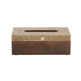Compare Wood Tissue Box Cover ByCole & Grey