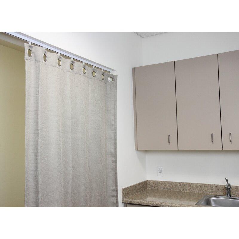 Symple Stuff Multi Purpose Room Divider Curtain Track Reviews