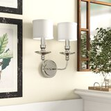 Corvus 2-Light Armed Sconce by Birch Lane™ Heritage