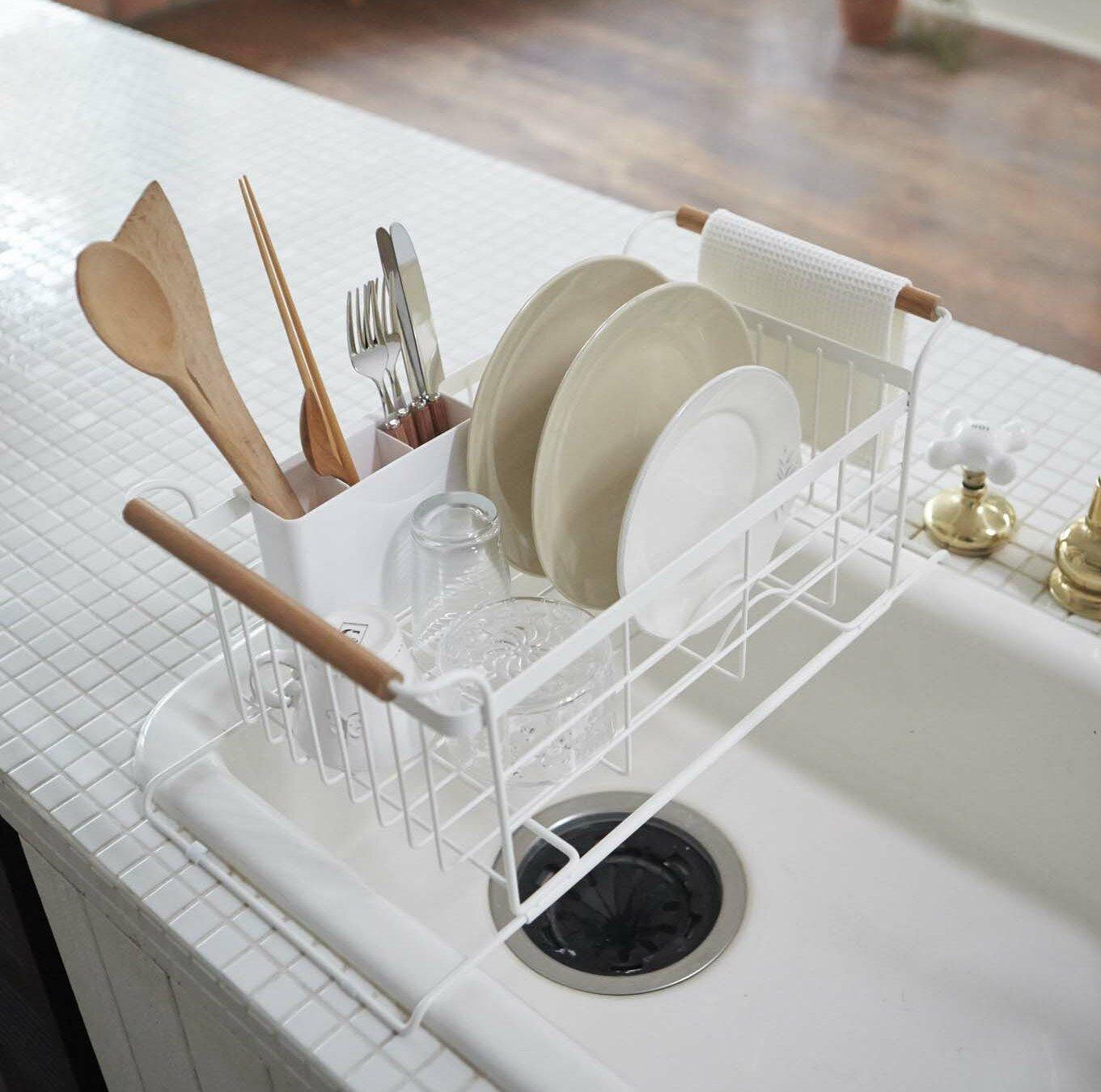Corrigan Studio Jamari Over-the-Sink Dish Drainer Rack & Reviews ...