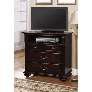 Wesleyan 4 Drawer Media Chest by Astoria Grand Best Choices