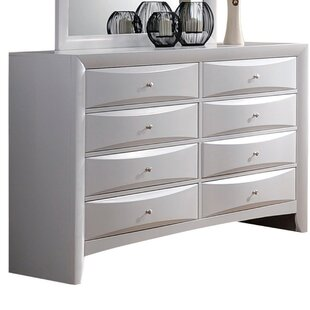 Schermerhorn 8 Drawer Double Dresser