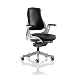 Leather Executive Chair By Symple Stuff