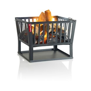 Squadra Cast Iron Wood Burning Fire Pit By Barbecook