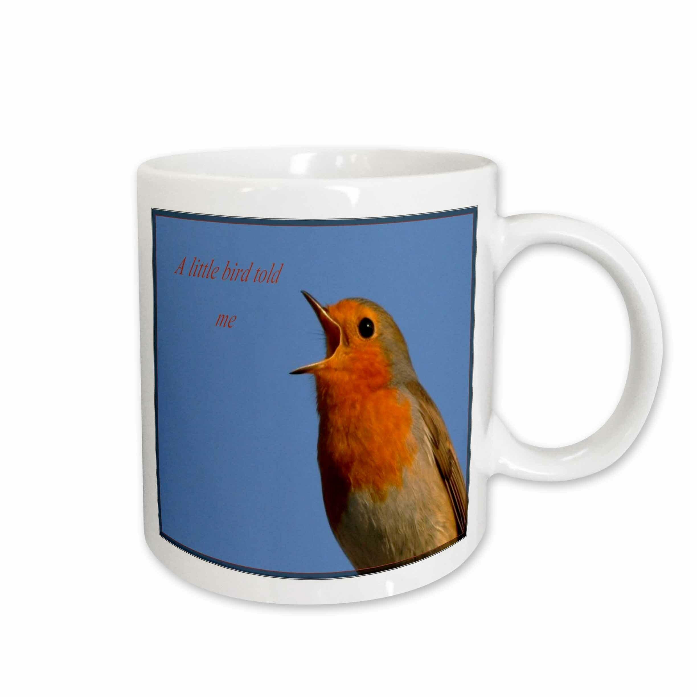 East Urban Home A Little Bird Told Me Coffee Mug Wayfair