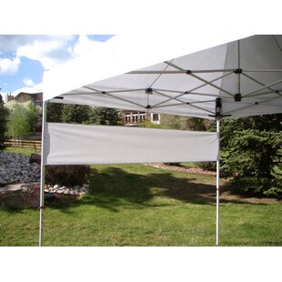 UnderCover Professional Grade Canopy with Leg Covers and Banner Wall