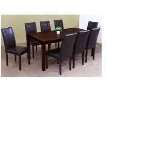 Moraine Solid Wood Dining Table Red Barrel Studio