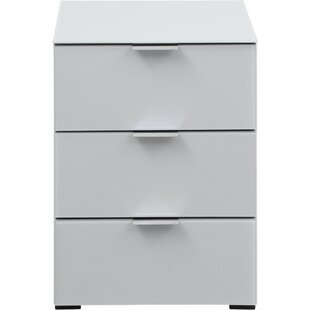 Comparison Helms 3 Drawer Nightstand by Orren Ellis