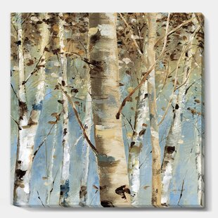 Gallery Wrapped Canvas Trees Wall Art You Ll Love In 2021 Wayfair