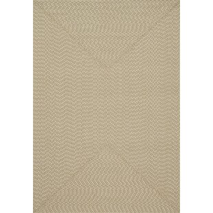 Bartolo Hand-Woven Beige Indoor/Outdoor Area Rug By Highland Dunes