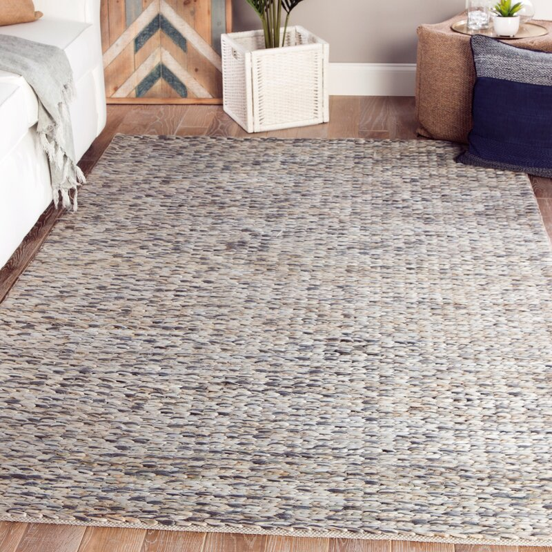 Highland Dunes Giselle Handmade Dhurrie Jute Beige Gray Area Rug Reviews Wayfair