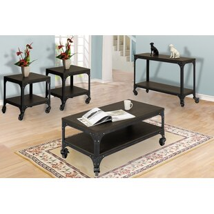 Burchfield 4 Piece Coffee Table Set