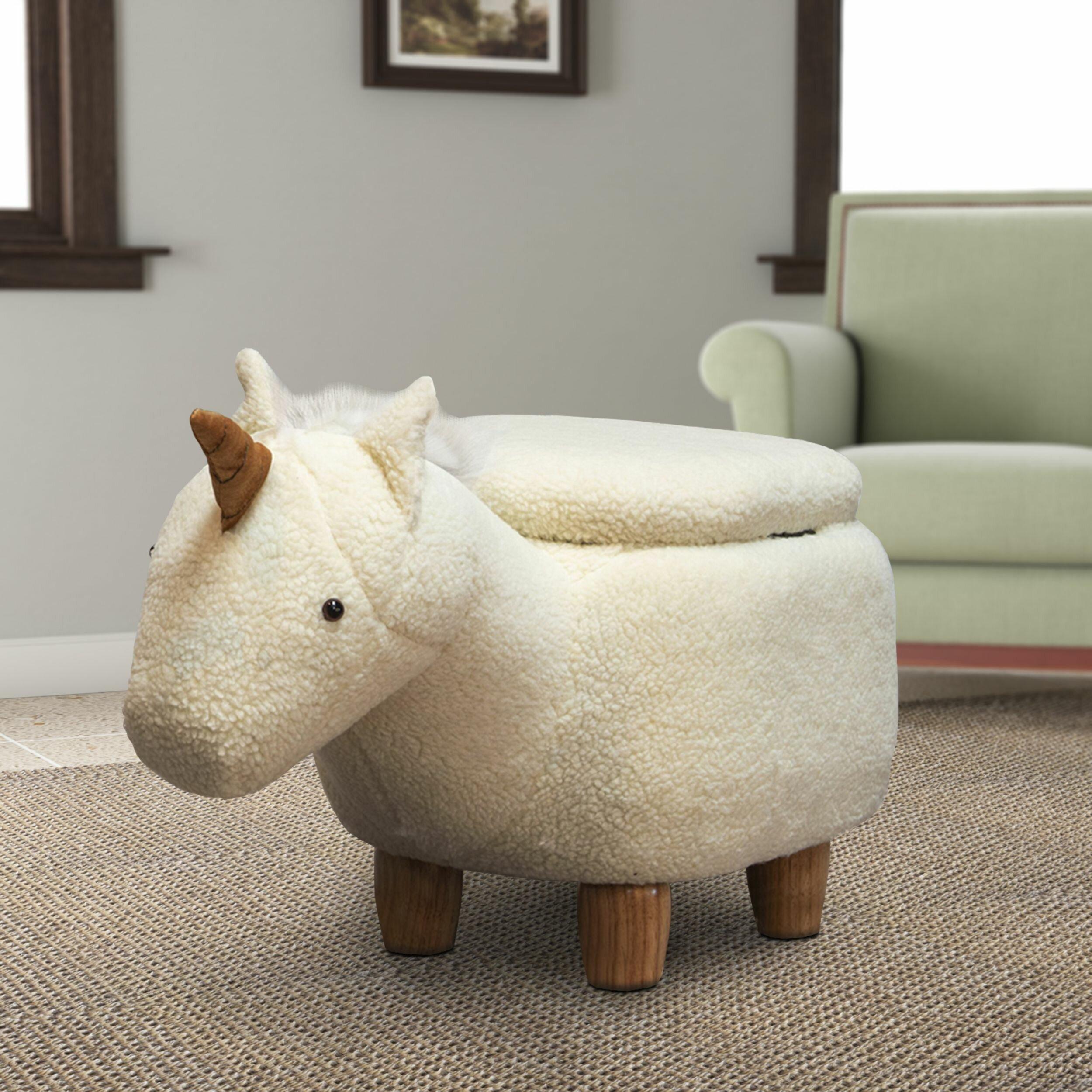 Unicorn Storage Ottoman
