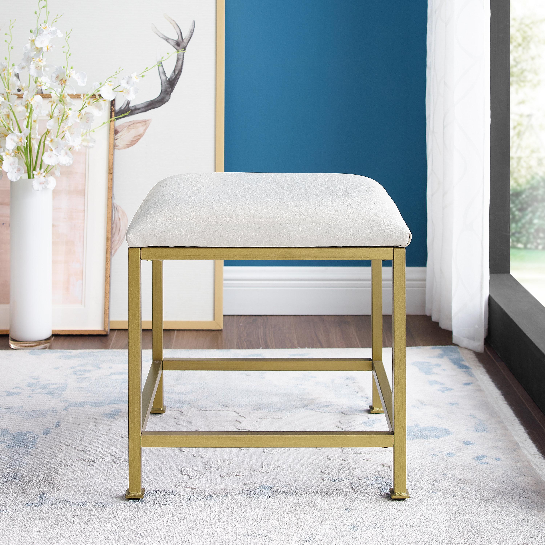 Superb Mercer41 Eades Vanity Stool Wayfair Theyellowbook Wood Chair Design Ideas Theyellowbookinfo