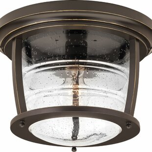 Celestine Outdoor Flush Mount by Loon Peak