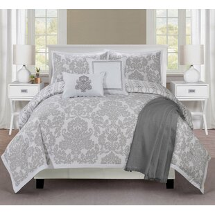Ellen Tracy 6 Piece Reversible Comforter Set