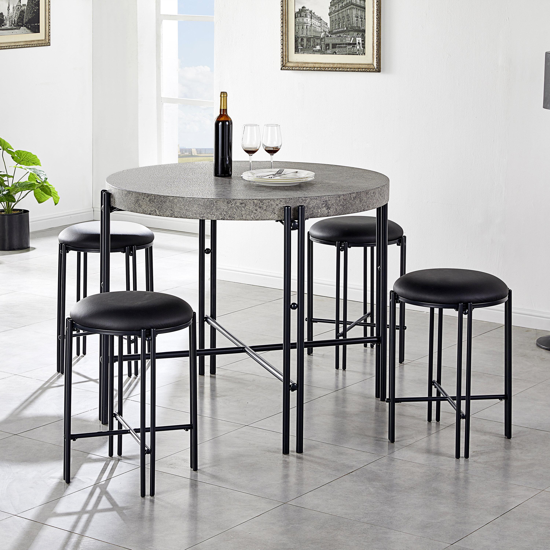Round Ebern Designs Kitchen Dining Room Sets You Ll Love In 2021 Wayfair