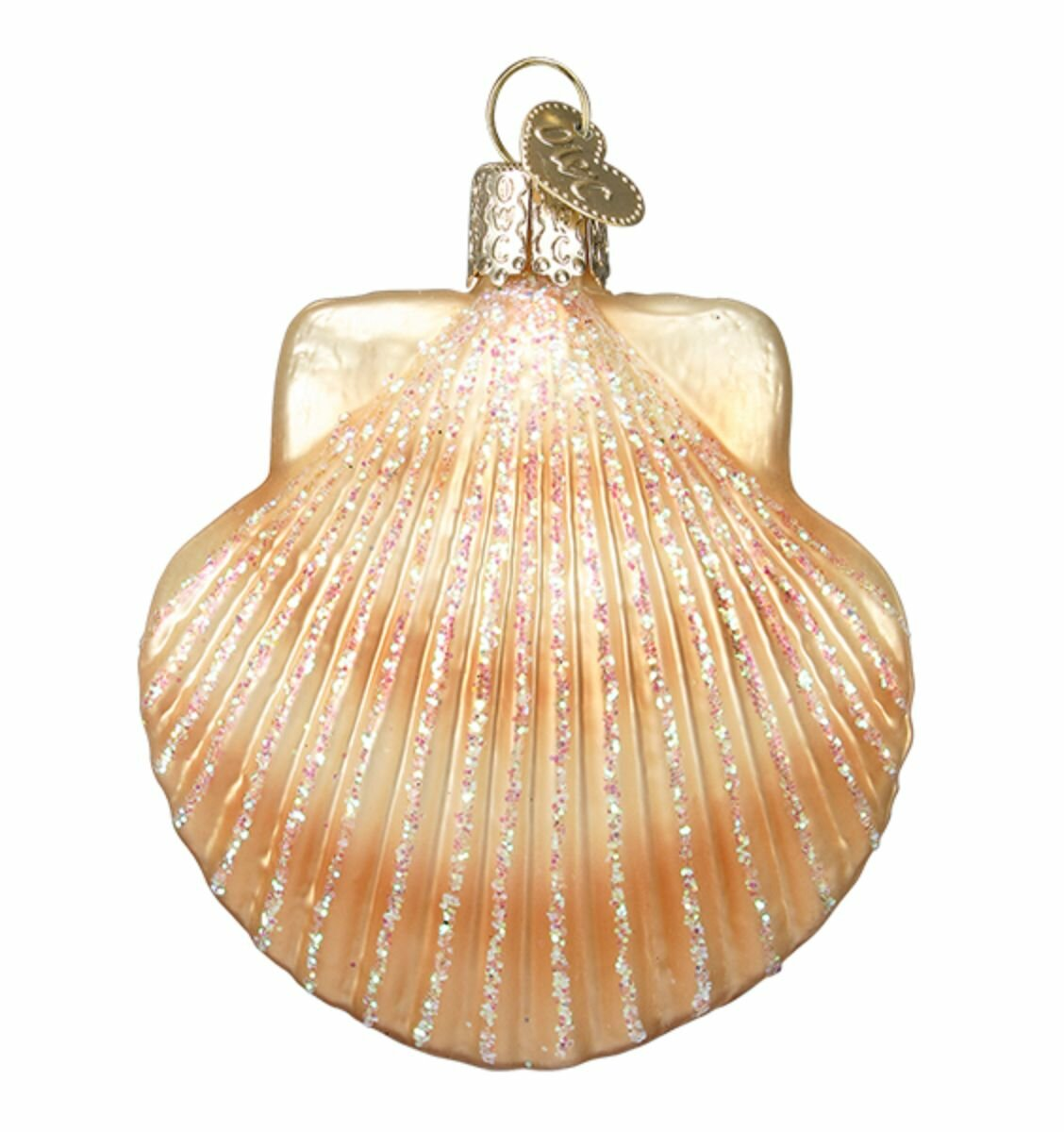Old World Christmas Scallop Shell Hanging Figurine Ornament Wayfair