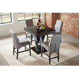 Daylesford 5 Piece Counter Height Dining Set by Red Barrel Studio®