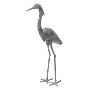 ACHLA Great Heron Statue