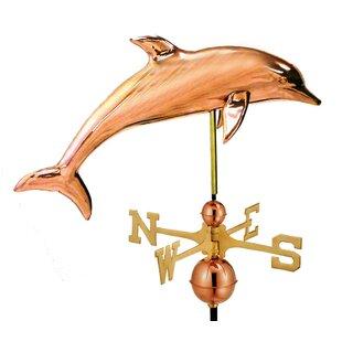 Broomsedge Dolphin Weathervane By Sol 72 Outdoor