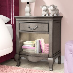 Troutdale 1 Drawer Nightstand Greyleigh