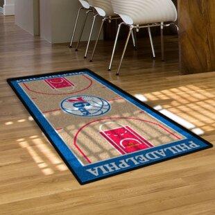 NBA - Philadelphia 76ers NBA Court Runner Doormat ByFANMATS