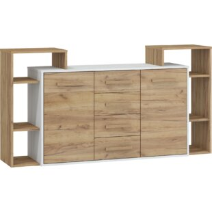 Read Reviews Bryana 4 Drawer Combi Chest