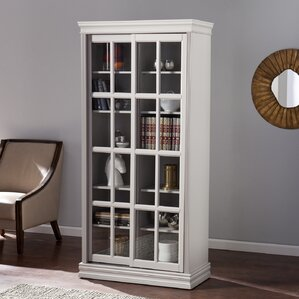 Hirsch Curio Cabinet by Darby Home Co