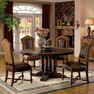 Burgundy Dining Table