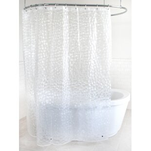 Seraphina EVA 5G Bubble Vinyl Single Shower Curtain Liner