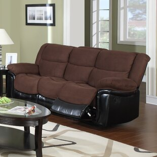 Read Reviews Warner Reclining Sofa by Flair Reviews (2019) & Buyer's Guide