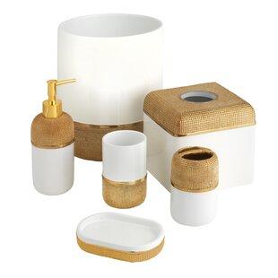 Buy clear Kimble 6 Piece Bathroom Accessory Set ByMercer41