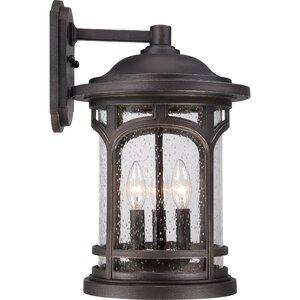Sheppard 3-Light Outdoor Wall Lantern