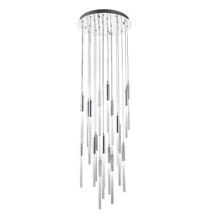 Kohn 21-Light LED Pendant by Everly Quinn