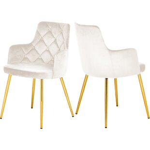 Zaina Upholstered Dining Chair (Set Of 2) by Mercer41 Reviews